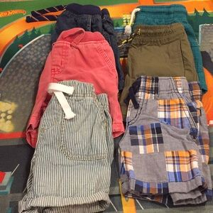 GUC Toddler Boy's Short bundle of 8, size 2t